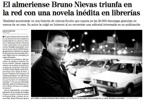 Bruno Nievas en prensa
