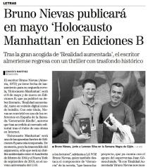 Noticia en La Voz de Almería